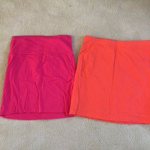 Dresses & Skirts - Two spandex skirts